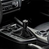 Genuine BMW F20 F22 M Performance Carbon Shift Knob Alcantara Boot 25112222533