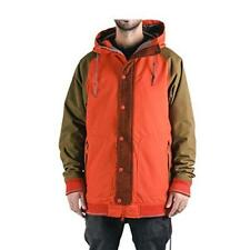 HOLDEN Men's VARSITY Snow Jacket - Firey Red/Olive - XL - NWT