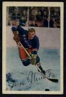 1952-53 Parkhurst #25 Gaye Stewart VGEX NY Rangers A4851