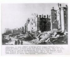 WW2 ORIG. PHOTO - KIEV STREET IN RUINS AFTER GERMAN RETREAT