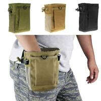 Tactical Magazine Utility Drop Dump Pouch Molle Military Ammo Bag NEW Heavy Q9V0