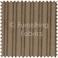Soft Velvet Jumbo Cord Upholstery Sofas Cushion Fabric Material In Mocha Coffee