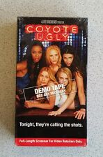 Coyote Ugly ~ Rare New VHS Promotional Screener Screening Demo Tape Movie