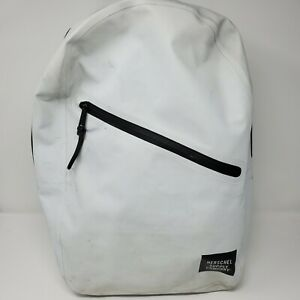 Herschel White Medium Laptop School Backpack