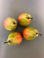 Artificial Fruit Pears set of 4