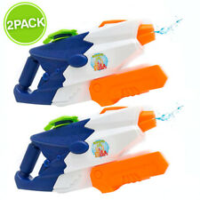 Soaked City Water Guns 2 Pack - Water Blaster Squirt Gun for Toddlers and Kids