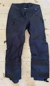 QUALITY Patagonia Guide Ski/Snowboard Outdoors Pants Black Size 38 Lightly used