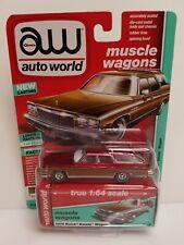 Rare Auto World 1976 Buick Estate Wagon Ultra Red Chase 1 Of 120