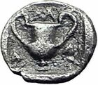 METHYMNA on LESBOS 450BC RARE R2 Genuine Ancient Silver Greek Coin Athena i64783
