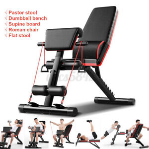 New Adjustable Dumbbell Weight Bench Abdominal Sit-up Fitness Gym Exercise Chair