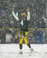Reprint Brett Favre Autographed Green Bay Packers 8X10 PHOTO Man Cave BAR DECOR