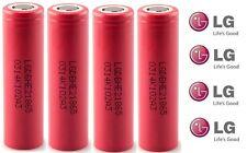 4x Original LG 18650 2500MAH HE2 alta drenaje 35Amp 3.7V Batería recargable de Li-on