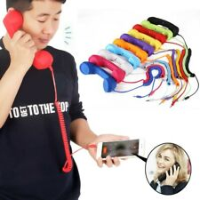 3.5mm Retro Telephones Handset Receiver for Android iPhone Radiation Proof