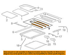 Cadillac GM OEM 08-14 CTS Sunroof-Drip Channel 22886294
