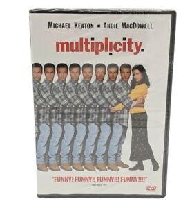 New / Factory Sealed: MULTIPLICITY Fullscreen DVD Michael Keaton ~ Free Shipping