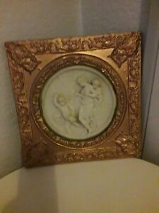 Gold & Marble Cherub picture