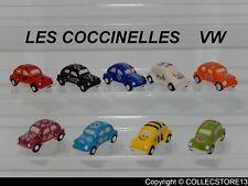 SERIE COMPLETE DE FEVES LES COCCINELLES VW    2019 - COX - VOITURES