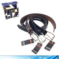 Cintura da Uomo in Pelle Cinta Elegante Blu Nera Marrone 120 125 130 cm Coveri