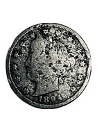 1894 Liberty Head Nickel - Better Date - Very Nice Coin - FREE SHIPPING *2235