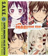 Inari Kon Kon Blu-ray/DVD S.A.V.E. Edition - Official R1 anime DVD NEW