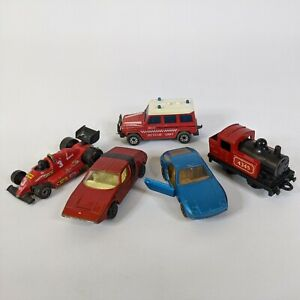 Matchbox Superkings Vintage Lot of 5 cars vehicles 1970s 1980s