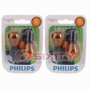 2 pc Philips Parking Light Bulbs for Mercedes-Benz B Electric Drive B180 ae