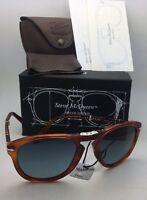 afcd4caae0 Steve McQueen PERSOL Folding Sunglasses 714-SM 96 S3 52-21 Havana+
