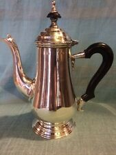 Vintage CROSBY Electroplated Knickle Silver Tea Pot Made in India E.P.N.S.A1 ~NR