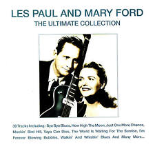 """LES PAUL & MARY FORD """"The Ultimate Collection"""" 30 Titres CD & Delta 2006"""