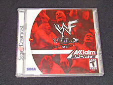 WWF WWE Attitude (Sega Dreamcast)     ***BRAND NEW - CASE CRACKED***