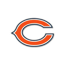 Team ProMark NFL Chicago Bears Aluminum Color Car Truck Emblem Sticker Decal