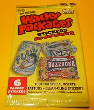 Vintage Topps RETRO WACKY PACKAGES~ANS2 Series 2~6 PARODY Trading Stickers Lot