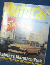 Autocar Cars, 1980s Transportation Magazines