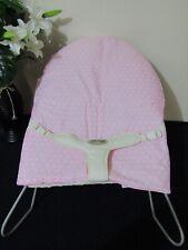 Babyhood bouncer liner-Pink polka dot-Funky babyz,Australian made