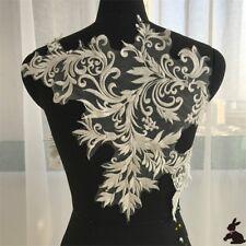 Blumen Stickerei Spitze Verzierungen Patch Applikationen Hochzeits Kleid Dekor