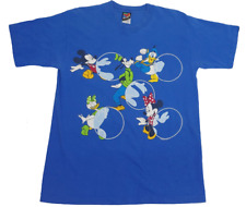 Mickey Unlimited- Disney- T Shirt- Mickey Mouse, Goofy, Donald, Minnie, Size L