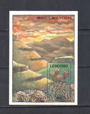 Lesotho 1989 Aloes/Red Hot Poker/Succulents m/s n14058
