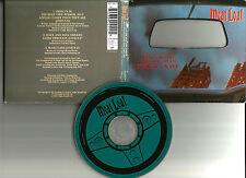 MEAT LOAF Objects in rear View DIE CUT MIRROR PACK w/ 2 LIVE TRX UK CD single
