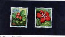 NEW CALEDONIA Sc 304-5(YT 288-9)**VF NH 1958 FLOWER SET $24