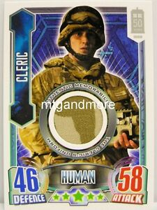 Cleric - The Cleric's Uniform - Authentic Memorabilia - Alien Attax Doctor Who