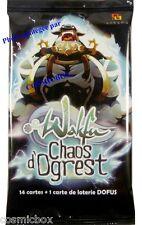 Booster 15 cartes WAKFU - DOFUS série CHAOS d'OGREST paquet Français cards NEUF