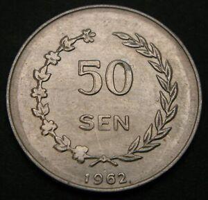 INDONESIA (RIAU ARCHIPELAGO) 50 Sen 1962 - Aluminum - XF/aUNC - 1802