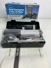 Realistic 40 Channel Road Emergency 2 Way Cb Radio Weather Handheld Atv Trc-460