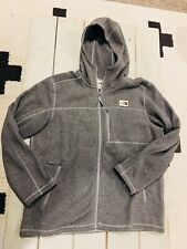The North Face Mens Gordon Lyons Full Zip Jacket XL Gray Heather NWOT