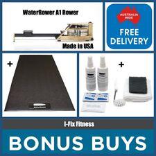 BONUS BUYS  - WATERROWER USA A1 Rower + Free Mat + Maintenance Starter Kit