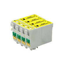 4 x Yellow Cartridges P50 R265 R285 R360 RX560 RX585 T0804 Compatible Ink