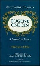 Eugene Onegin: A Novel in Verse, Vol. 1 by Pushkin, Aleksandr Sergeevich