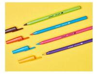 12PCS Monami 153 Stick Vivid Ballpoint Pen 0.7 mm Black Pens Office School are