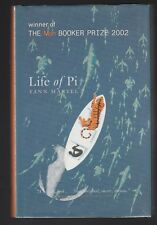 Life of Pi by Yann Martel (2002, Hardcover), Signed Great Britain Edition