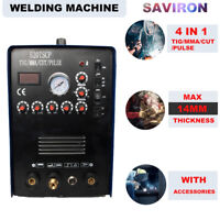 TIG/MMA/PULSE Stick Welder IGBT Inverter Plasma Cutter 110/220V Welding Machine